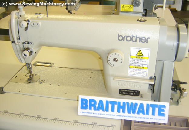 Brother SL40 Industrial Sewing Machine Only £40 New Braithwaite Industrial Sewing Machines