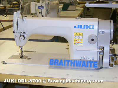 Juki DDL 8700 sewing machine only £435