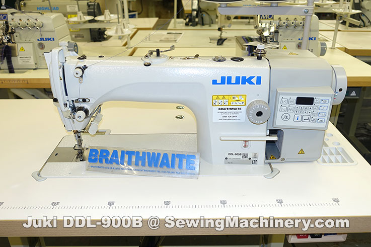 Juki DDL-900B sewing machine