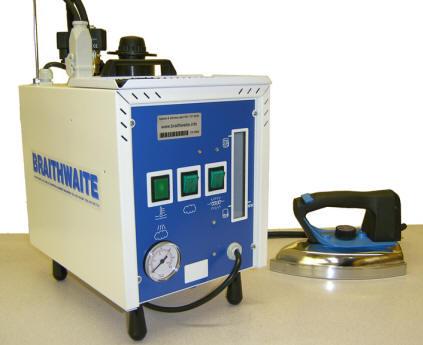 GL-Pro industrial single iron steam generator from Braithwaite