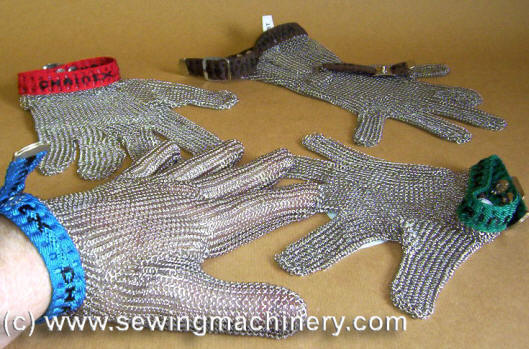 Spare Parts Mail: Chain Mail Gloves Safety