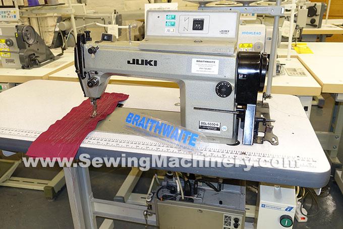 juki sewing machine ddl 5550